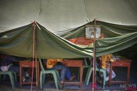 Perdoski bangun sekolah ceria di pengungsian Mataram