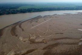 Debit air Sungai Batanghari menyusut