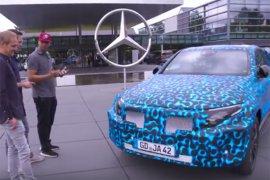 Mercedes siap serang Tesla dengan SUV listrik