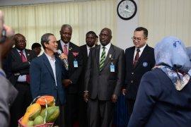 Presiden Namibia kunjungi IPB untuk melihat inovasi pertanian masa kini