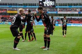 Leverkusen raih kemenangan perdananya musim ini