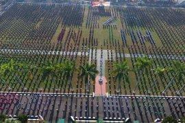 1.673 prajurit ikuti upacara HUT ke-73 TNI