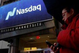 Indeks Nasdaq naik, dorong Wall Street ditutup bervariasi