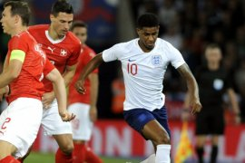 Rashford Bawa Inggris Kalahkan Swiss