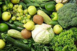 Manfaat sayuran dan buah berwarna hijau