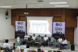 Alumni FMIPA IPB angkatan 30 berbagi kisah kepada mahasiswa IPB