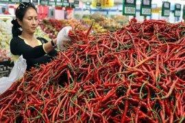 Harga cabai merah meroket Rp60 ribu per kilogram