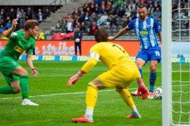 Hertha Berlin untuk sementara puncaki klasemen Liga Jerman