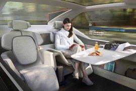 Volvo rancang 360c untuk layanan online transportasi?