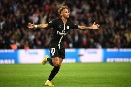 Neymar trigol, PSG hantam Red Star hingga babak belur