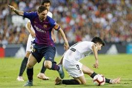 Paceklik kemenangan berlanjut, Barcelona main imbang 1-1 lawan Valencia