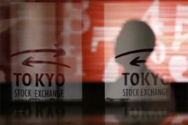 Saham Tokyo ditutup turun tertekan kekhawatiran prospek  ekonomi global