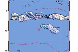 Gempa guncang Sumba Barat Daya dan Badung