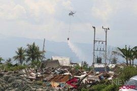 BNPB jatuhkan bom air di wilayah terdampak likuifaksi