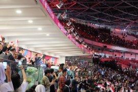 Presiden Jokowi sambut atlet Asian Para Games 2018