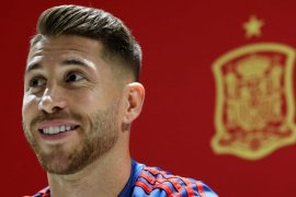 Sergio Ramos sebut Harry Kane bisa sukses di La Liga