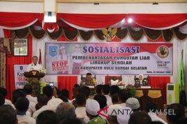 Bupati HSS : Tekad bersama untuk hentikan pungli di sekolah