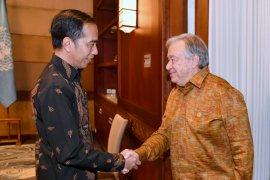Sekjen PBB puji cara Indonesia tangani bencana