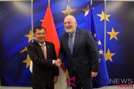 Wapres JK bertemu Wapres Komisi Uni Eropa bahas ekonomi