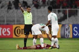 """Qatar klarifikasi penyebab pemainnya """"bertumbangan"""" kontra Indonesia"""