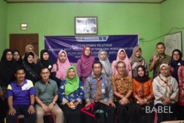 Penenun cual Bangka Barat ikut pelatihan ATMB