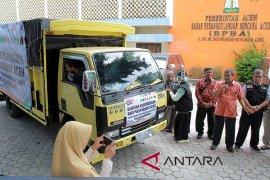 BPBA serahkan bantuan logistik kepada korban bencana alam di Aceh Jaya