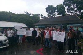 Puluhan warga tuntut pembentukan Kabupaten Bangka Utara