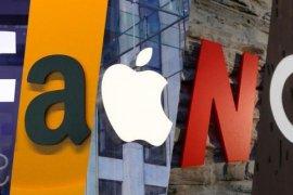 Wall Street jatuh terseret penurunan saham-saham teknologi