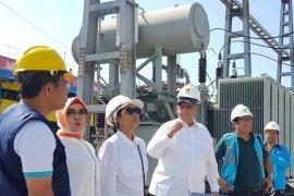 Pastikan listrik kembali normal, Menteri BUMN kunjungi Palu
