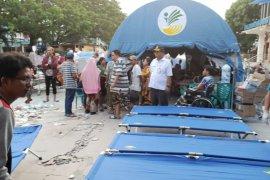 Tenda serbaguna jadi rumah sakit darurat