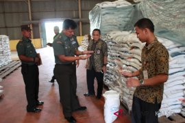 Tim Sergap Mabesad kontrol ketahanan pangan di HST