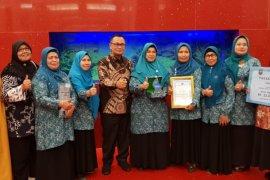 PKK Kecamatan Rambutan raih penghargaan tingkat nasional.