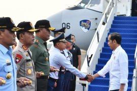 Presiden ke Sulawesi Tengah tinjau daerah bencana