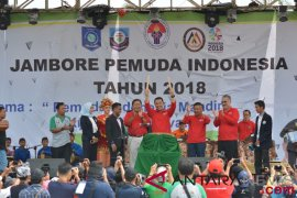 Menpora Imam Nahrawi buka Jambore Pemuda Indonesia di Babel