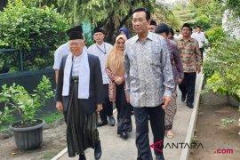 Ma`ruf Amin temui Sultan Hamengku Buwono X