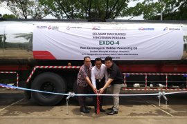 Pertamina melakukan suplai perdana EXDO-4