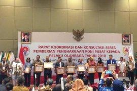 KONI beri penghargaan atlet dan pengurus olahraga berprestasi di Asian Games 2018