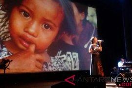 Doa Putri Ayu untuk korban bencana di NTB dan Sulawesi Tengah