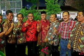 Hasto dampingi Johan Budi silaturrahmi dengan masyarakat di Ngawi