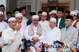 Ma'ruf Amin bersyukur atas dukungan habib-ulama