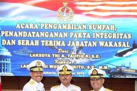Laksda TNI Wuspo Lukito resmi jabat Wakasal