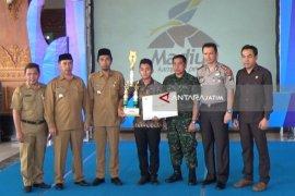 Bupati Luncurkan Logo Kabupaten Madiun Kampung Pesilat Indonesia
