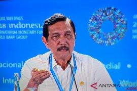 Luhut: pemerintah berhemat gunakan anggaran pertemuan IMF-WB