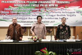 MPR berharap cetak narasumber Empat Pilar lewat pelatihan