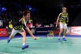 Minions hadapi seniornya pada semifinal Denmark Terbuka