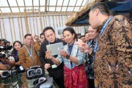 Menteri Rini Soemarno resmikan Paviliun Indonesia