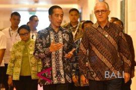 OOC 2018: pertemuan Joko Widodo-Turnbull