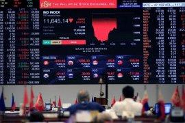 Bursa saham Filipina ditutup naik 0,12 persen
