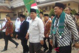 Prabowo tidak minta dukungan di Rakernas LDII