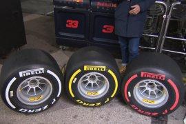 Pirelli umumkan ban untuk F1 2019